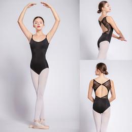 def014f84998 Ballet Leotard For Women Black Sexy Ballet Dancing Wear Adult High Quality  Dance Practice Clothes Gymnastics Leotards