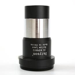 2019 md plastico 5P0052 1,25 pulgadas Barlow 2x ocular del telescopio astronómico del telescopio de visión nocturna de la lente ocular no monocular