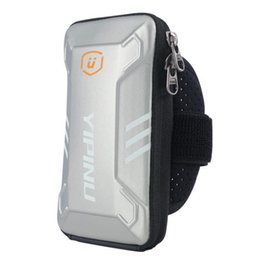 Equipamentos de esportes ao ar livre on-line-2020 Free Shipping Arm Bag Running Mobile Phone Arm Bag Waterof Outdoor Sports Equipment Fitness Wrist Bag 20042003W