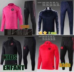 2019 xxs vestes Survetement enfant survetement jordam 2019 mbappe maillot de football kit maillot de football ronaldo xxs vestes pas cher