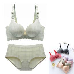 aae3cc8dda778 panties bras push up UK - Sexy Bra Set For Women Seamless Panties Lingerie  Set Briefs
