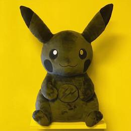 Creativo nuevo rayo negro de Pikachu juguete de peluche de dibujos animados anime de la muñeca del paño oscuro elfo oscuro limitada desde fabricantes