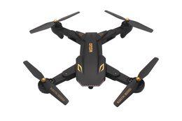 VISUO XS809S Drone RC 2.0MP Cámara gran angular Quadcopter Wifi FPV Plegable Una tecla Altitud de retorno Mantener el sensor G incluye 3 baterías adicionales desde fabricantes