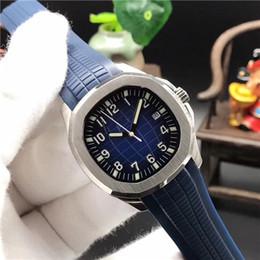 2019 reloj de goma china Relojes de lujo para hombre Automáticos mecánicos 5167 5168 5167A 5168G 40 MM Bule dial Top Correa de goma Marcas de China Hombres reloj deportivo 10 clour reloj de goma china baratos