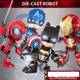 insetos robôs Desconto Aloy vingador boneca Brinquedos Anime Vingadores de Comércio Exterior 4 Feitos À Mão Capitão América 3 Homem De Ferro Homem-Aranha Bonecas Liga