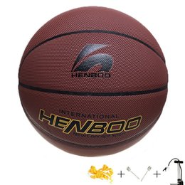 2017 Basketball Ball Basketball Training Basketbal PU Size 7 Wear Non-slip  Hygroscopic Sweat Outdoor Game Indoor Sports  15127 a327fda6781a4