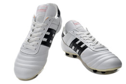 2019 nuevas botas messi Nuevo 2019 Tacos de fútbol originales Copa Mundial FG Full White Messi Outdoor Outdoor Soccer Shoes Soft Spike Football Boots rebajas nuevas botas messi