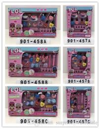 Maquiagem sombra pacote on-line-Marca de maquiagem infantil, sombra, base para caixa de presente de natal brinquedo moda menina acessórios caixa de embalagem requintada t34242