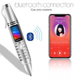 2019 lanterna celular 2019 K07 Celular Mini 0.96 polegadas Tela Pequena GSM Dual SIM Câmera Lanterna Bluetooth Dialer Telefones Celulares caneta de gravação DHL lanterna celular barato