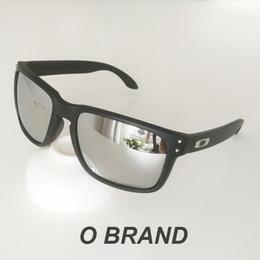 2019 rubinrote brille Holbrook o Marke Mens Design Fashion Sonnenbrille Rahmen polarisierte Linse NEW9102 New Outdoor Brille Freies Verschiffen mit Original Box VR46 99