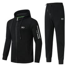 Argentina 2019 primavera otoño nuevo diseñador para hombre chándales de moda para hombre trajes de jogging de alta calidad de lujo informal chándal más el tamaño M-3XL cheap quality men suits Suministro