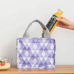 organizador de picnic Rebajas 2018 Hot Fashion Portable Tote Cooler Lunch Bag Fresh Insulated Women Lunch Bag Thermal Female Kids Picnic Organizador