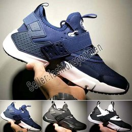 huarache laufschuhe herren Rabatt Designer shoes Nike men women 2019 New Air Huarache 6 X Akronym City MID Leder High Top Huaraches Herren Laufschuhe Laufschuhe Herren Huraches
