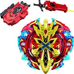 Spielzeugklingen online-Tops Beyblade Burst Toys Arena Bayblades Toupie B-128 Beyblade Metallfusion mit Lanceur-Gott-Kreisel Bey-Blade-Klingen-Spielzeug
