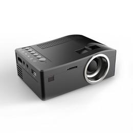 samsung np Desconto Kit projetor holográfico UNIC UC18 Mini Projetor Portátil com Cartão HDMI USB TF AV Cabo Projetor LED para Home theater Cinema