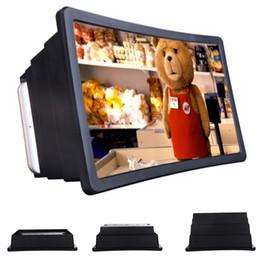 2020 support de téléphone portable pliant Nouvelle F2 Loupe yeux Protection écran Folding 3D écran mobile Téléphone portable Amplificateur Titulaire élargi Expander stand promotion support de téléphone portable pliant