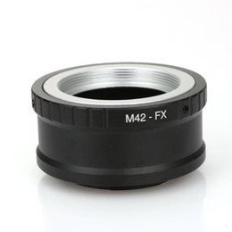 M42-FX M42 M 42 Lens Için Fuji Dağı X-Pro1 X-M1 X-E1 X-E2 Adaptörü Halka Lens Adaptörü cheap ring adapter m42 nereden halka adaptör m42 tedarikçiler