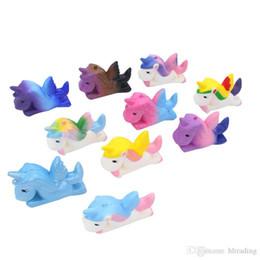 10color chaud PU lent rebond licorne Pegasus squishy résine artisanat créatif ornements décompression dessin animé jouet M016 ? partir de fabricateur
