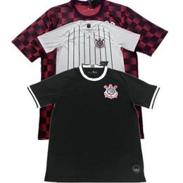 19 20 Club de fútbol brasileño Corinthians Camisetas de fútbol para hombre 2019 2020 Nuevo local visitante Tercer Sócrates JADSON BALBUENA Camisetas de fútbol Uniformes desde fabricantes