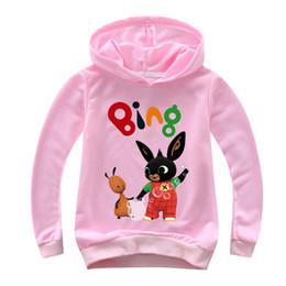 2020 conejito camisa niños Bing conejito FNAF Hoppity Voosh Bing sudaderas con capucha 3D Impreso Camisa con capucha chica del muchacho de la camiseta con capucha abrigos superior de los niños rebajas conejito camisa niños