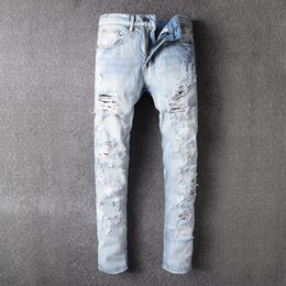 7480485d69d Discount ripped jeans korean fashion - Hole Jeans 2018 Teenagers Korean  Edition Fashion Trend Slim Small