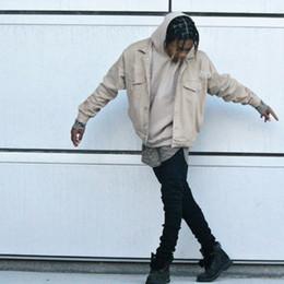 2019 jeans neri scuri New Man Jeans Uomo Spijkerbroeken Heren Pure Black Biker Jeans Uomo Slim Fit High Street Dark Black Slim Matita Pantaloni Pantaloni jeans neri scuri economici