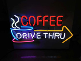 yellow glasses for night driving Promo Codes - New Star Neon Sign Factory 17X14 Inches Real Glass Neon Sign Light for Beer Bar Pub Garage Room Coffee Drive Thru.