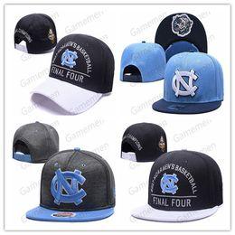 2020 stock de chapeaux de relance NCAA North Carolina Tar Heels Caps 2019 New College Chapeaux réglable tout: Snapback en stock Mix match en gros Commandez une taille stock de chapeaux de relance pas cher