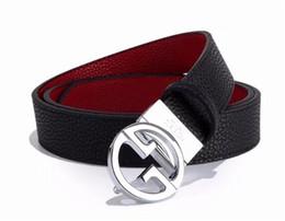 2019 cinturones xl para hebillas negro Cinturón macho 2018 cinturón de hebilla real cinturón negro neutro diseñador masculino cinturón libre de carga cinturones xl para hebillas negro baratos