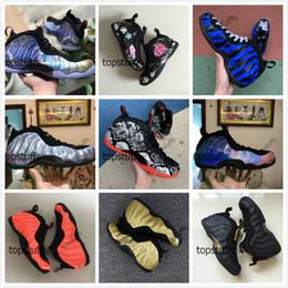 sapatos de hardoway de moeda de um centavo azul Desconto Penny Hardaway Sapatos de Basquete Homens Espuma de Pele De Cobra Floral Big Bang Sequoia Ano Novo Lunar Galaxy 2.0 Memphis Tigres Espuma Azul Sneakers