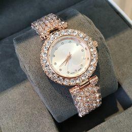 9719914d1d54 Niza Nuevo modelo Moda Reloj de lujo para mujer con diamantes Diseño  especial Relojes De Marca Mujer Vestido de dama Reloj de cuarzo Reloj de oro  rosa