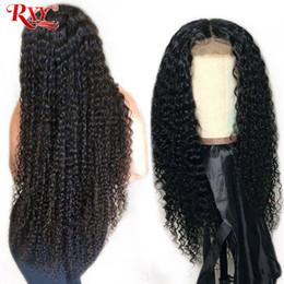 Perruque frisée 18 pouces en Ligne-Perruque de cheveux humains bouclés Afro Kinky malaisien de cheveux malaisiens 360 Perruques de lacet de cheveux humains en dentelle noire naturelle perruques de lacet noir 10-26 pouces