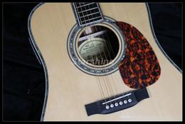 2019 matériel métallique JEAN6020 Guitare acoustique 6 cordes style D 45E Fishman EQ Table en épicéa massif Grover Tuner ébène