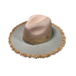 2019 sombrero de vaquero de paja de papel feitong 2019 verano de la playa del sombrero Bloqueador solar UV Protection Sombrero popular del estilo transpirable Hommes Femme preámbulo de soleil # Y35