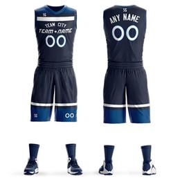 6ef83ca4abe basketball team uniforms jersey Canada - Custom Mens Basketball Jersey Sets  DIY Uniforms Kits Boys Sports
