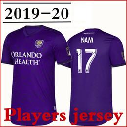 2019 jersey orlando Orlando City SC Primary Authentic Player Jersey 2019 Hombres Nani Purple J.Mendez Dwyer Mueller Patino Colman Jugador versión Fútbol camiseta jersey orlando baratos