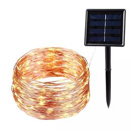 batteriebetriebenes led-sternlicht Rabatt 20m 200 LED-Solarschnur Weihnachten Dekoration Beleuchtung Wasserdichte Outdoor-Garten-Weihnachtshochzeitsfest-Dekoration