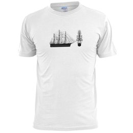 green tea men Promo Codes - CUTTY SARK (2) SKETCH SHIP TEA CLIPPER harajuku Summer 2018 tshirt