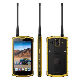 Moblie Phone S962B IP68 Waterproof Android 7.0 UHF 400-480MHz walkie talkie 5100mAh Dual SIM Card Smartphone supplier uhf cards от Поставщики карты uhf