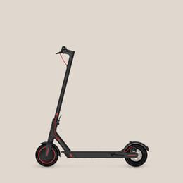 Scooter plegable para adultos online-Original caliente 2019 Xiaomi Mi Scooter eléctrico Mijia M365 Pro inteligente Mini Scooter E monopatín plegable Hoverboard Longboard Adultos 45 kilometros de la batería