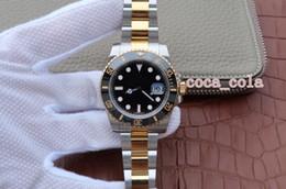 meilleure montre étanche pour hommes Promotion Version améliorée de luxe meilleure qualité étanche Sub 116613LN en acier inoxydable en or jaune 18 carats Eta 2813 mouvement automatique Mens Watch