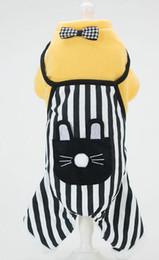 Nuovi vestiti per animali domestici, cani in miniatura autunnali e invernali, gatti brezza giapponesi e coreani, vestiti per animali domestici ricamati, indumenti a quattro zampe, cinghie a da miniature giapponesi fornitori