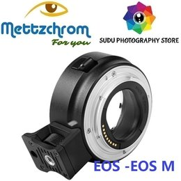 caméra e Promotion Adaptateur électronique autofocus pour objectif Canon EF-S EOS vers appareil photo EF-M EF-M ADAPTATEUR EF-EOSM