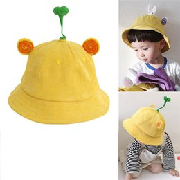 f0439e5b Fashion Winter 3-4 Year Old Baby Fisherman Hat Sunshade Sun Protection  Yellow Warm Cap Solid Casual popular cute #4F20 fisherman beanie for sale