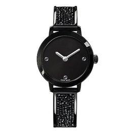 Argentina Mujeres de lujo Relojes de Oro Swarovski Crystal Swan Dial Acero Tiras Señoras Alta Calidad Reloj de pulsera de Cuarzo Regalo de Navidad Suministro