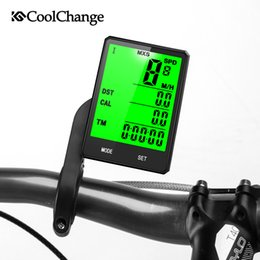 transmisor receptor sensor Rebajas 2019 Bicicleta Inalámbrica Computadora Velocímetro Odómetro Rainproof Ciclismo Bicicleta Computadora Bicicleta Medible Temperatura Cronómetro