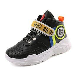 Mid-Upper-Schuhe des neuen Stils Winter koreanische Version Freizeit erhöhte Hip-Hop-Tanz Board Schuhe warm Herrenmode von Fabrikanten