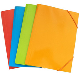 A4 Archival Bag Multi Color Paper Folders Filing Supplies File Pocket Student Stationery New Arrive