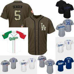 martin beisebol Desconto 5 Corey Seager Jersey Los Angeles 11 A.J. Camisas de basebol de Cock Bellinger Russell Martin Kenley Jansen Dodgers de Pollock 21