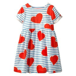 071099a350d1 2019 New Fashion Baby Girl's Dress Cotton Holiday Princess Dress Short  Sleeve Dresses Children Summer Clothing for Kids